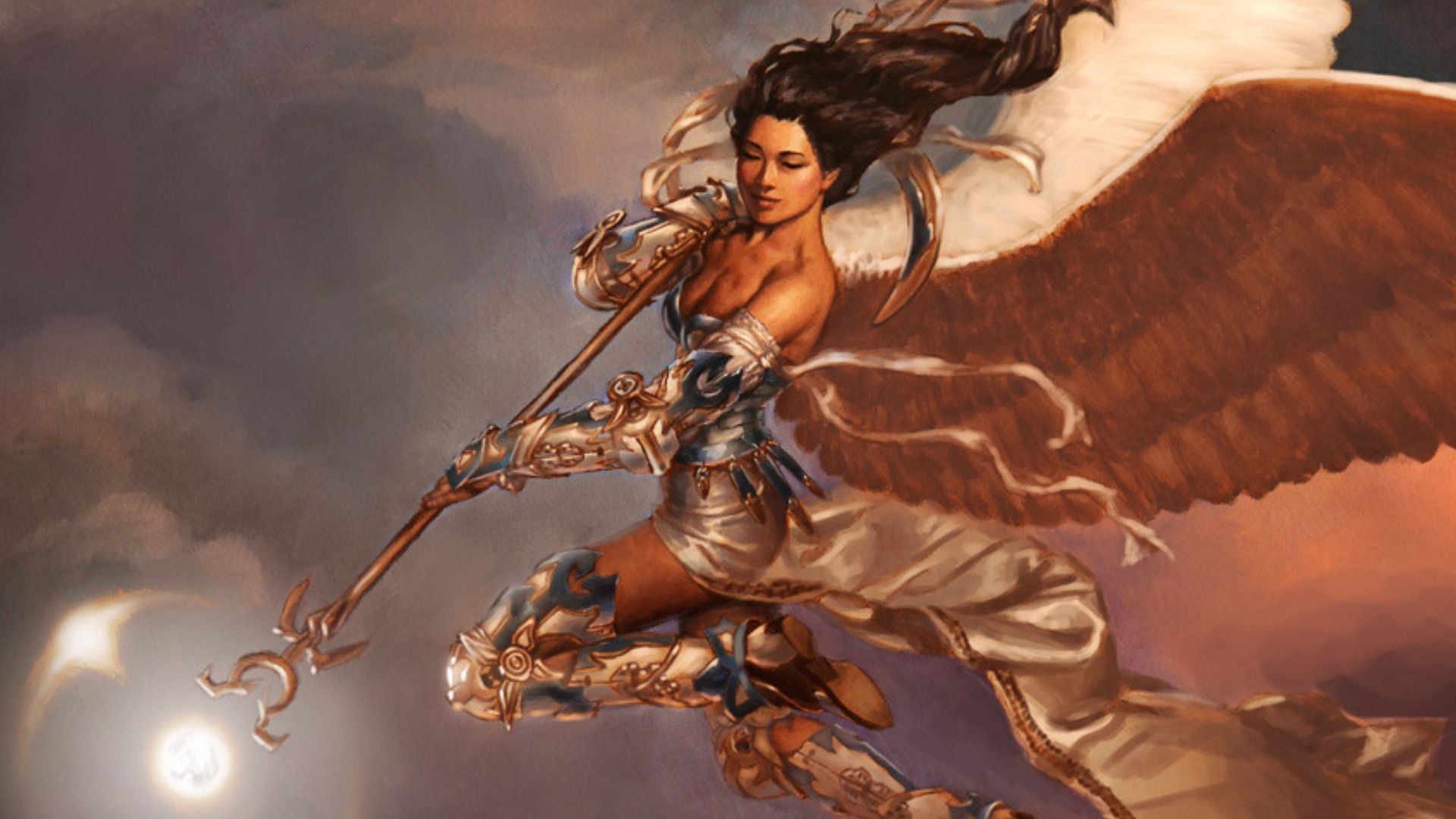 Fantasy Angel Wallpaper (With images) Winged people