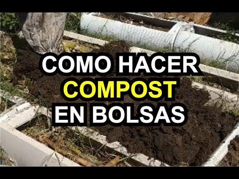 343 Como Hacer Compost Compostaje En Bolsas Compostsaco Youtube Compost Exercise Youtube