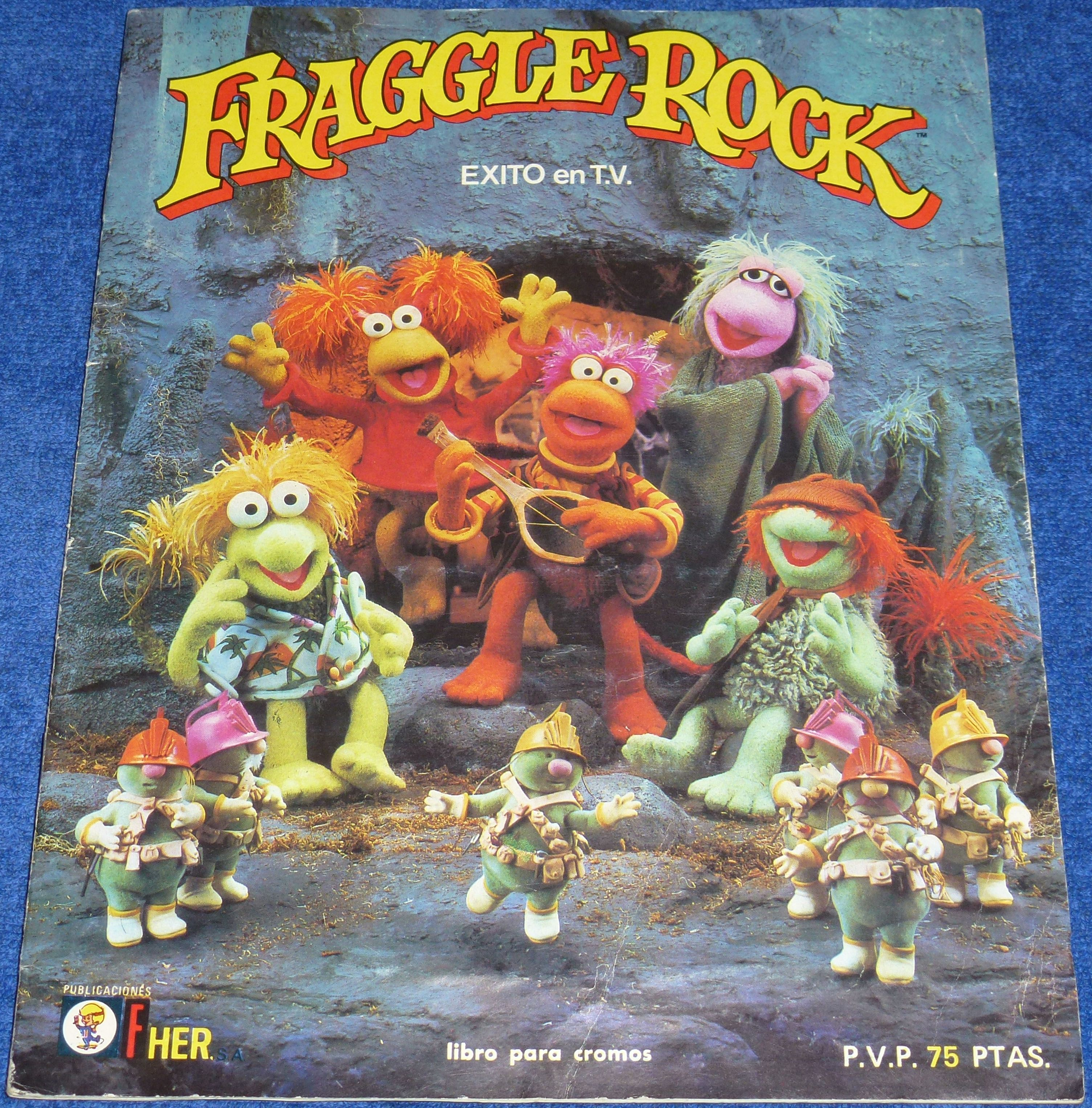Excepcional Fraggle Rock Para Colorear Molde - Ideas Para Colorear ...