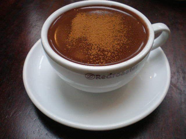 gammeldags varm chokolade