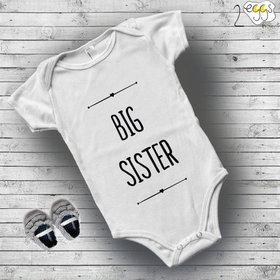 Big sister little sister outfits, little sister onesie, Baby outfits ...