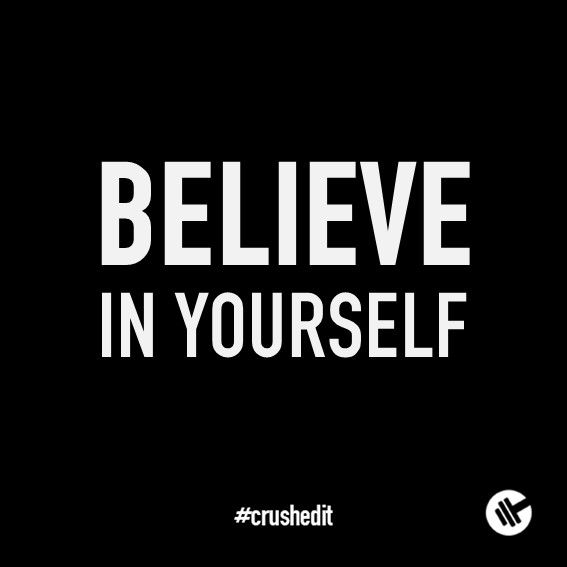 Believe In Yourself. #fitness #quote #motivation #gym #workout #supplements