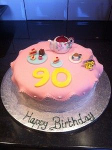Birthday Cake 90 Year Old
