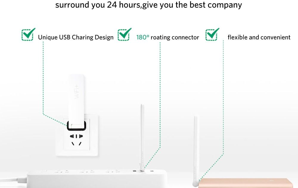 Promo Offer Xiaomi Mi Wifi Amplification Repeater 2 Wireless Router Universal Repitidor Signal Expander Amplifier 11n 300mbps Unique Usb Custom Pc Charing