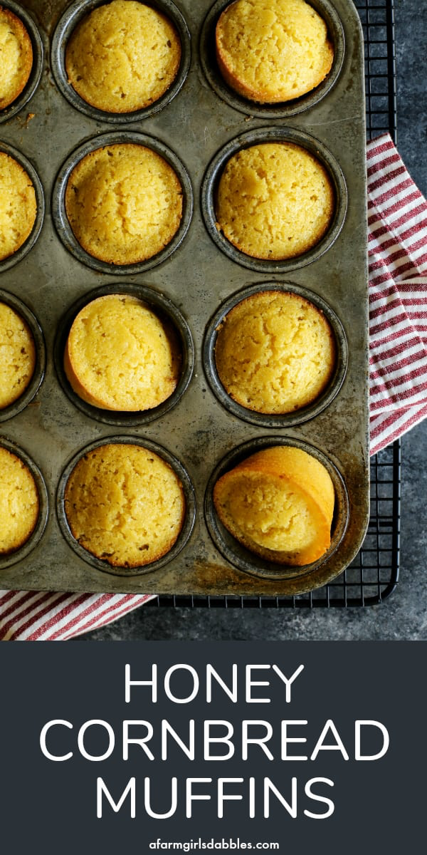 Honey Cornbread Muffins Recipe Honey Cornbread Muffins Honey Cornbread Cornbread Recipe Sweet