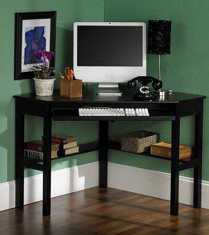 Best 25+ Small Corner Desk Ideas On Pinterest | Corner Desk, White Corner  Desk And Small Bedroom Office Part 6