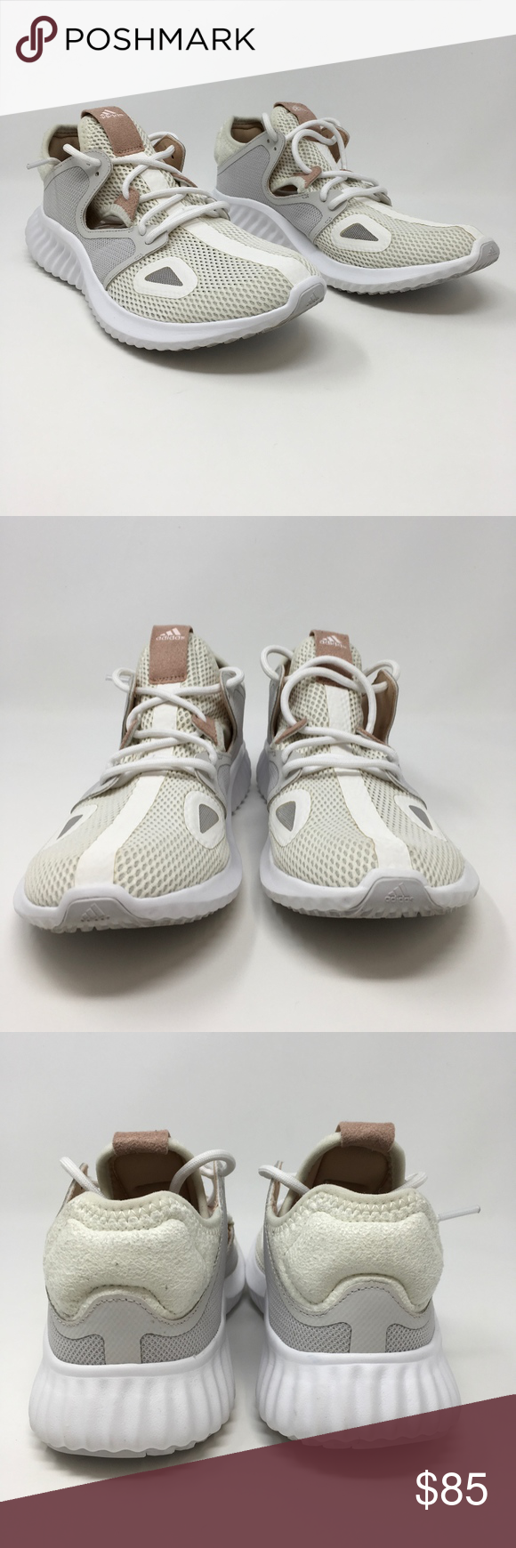 876a88c3c Adidas Run Lux Clima Running Shoe CQ0595 Ash Pearl These womens Adidas  running shoes are new without the box. The tread of these shoes shows dirt  on them ...