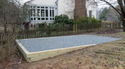 How To Build A Gravel Foundation Base For A Shed A Detailed