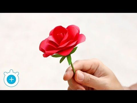 Origami easy paper flower l very easy to make l paper craft ideas l origami easy paper flower l very easy to make l paper craft ideas l 2018 youtube mightylinksfo
