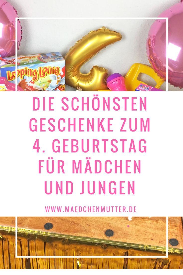 Schone Geschenke Zum 4 Geburtstag Geschenke Fur Kleinkinder