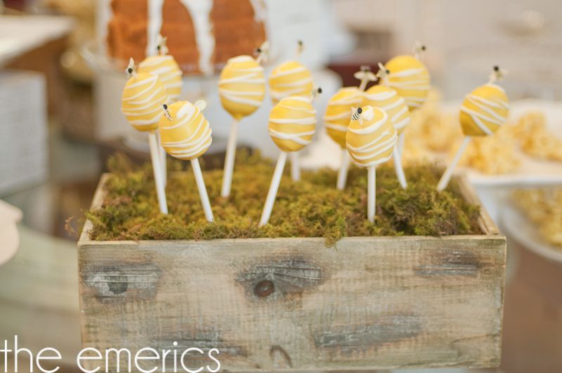 Yellow Bumble Bee Themed Baby Shower