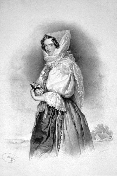 Franziska De Paula Von Liechtenstein Litho Categorycountess Franziska Kinsky Von Wchinitz Und Tettau