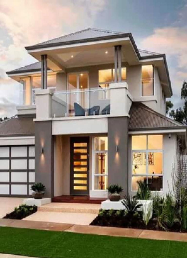 Desain Rumah Minimalis 2 Lantai Type 36 72 Terbaru Di 2020 Desain Rumah Rumah Minimalis Rumah