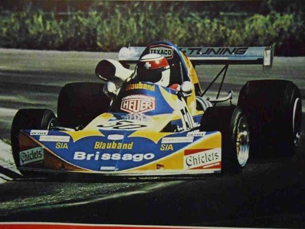 Jo Vonlanthen - March 742 BMW - Team Vonlanthen - European 2 Championship 1974
