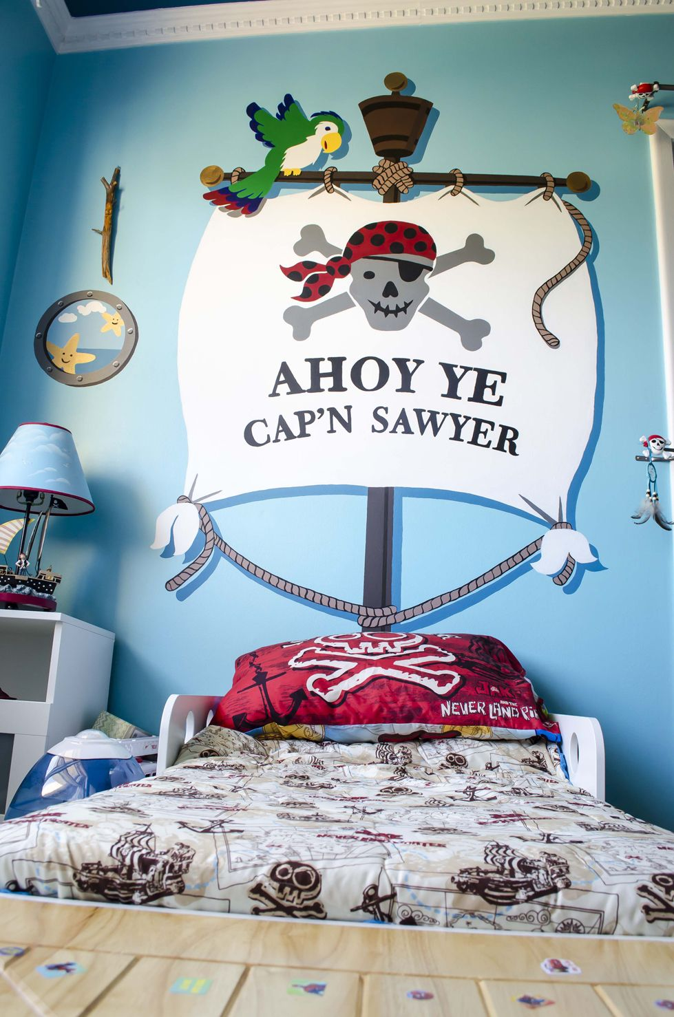 ahoy ye matey paint by number wall mural pirate ships wall paint by number wall mural