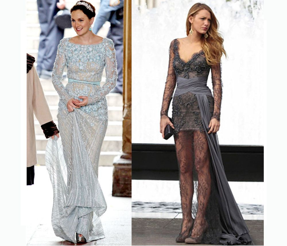 Homage to gossip girl serena and blair gowns