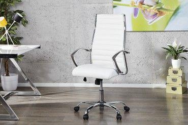 Bürosessel weiß  Design Bürostuhl Chefsessel Big Deal weiss   Chiceria   Pinterest