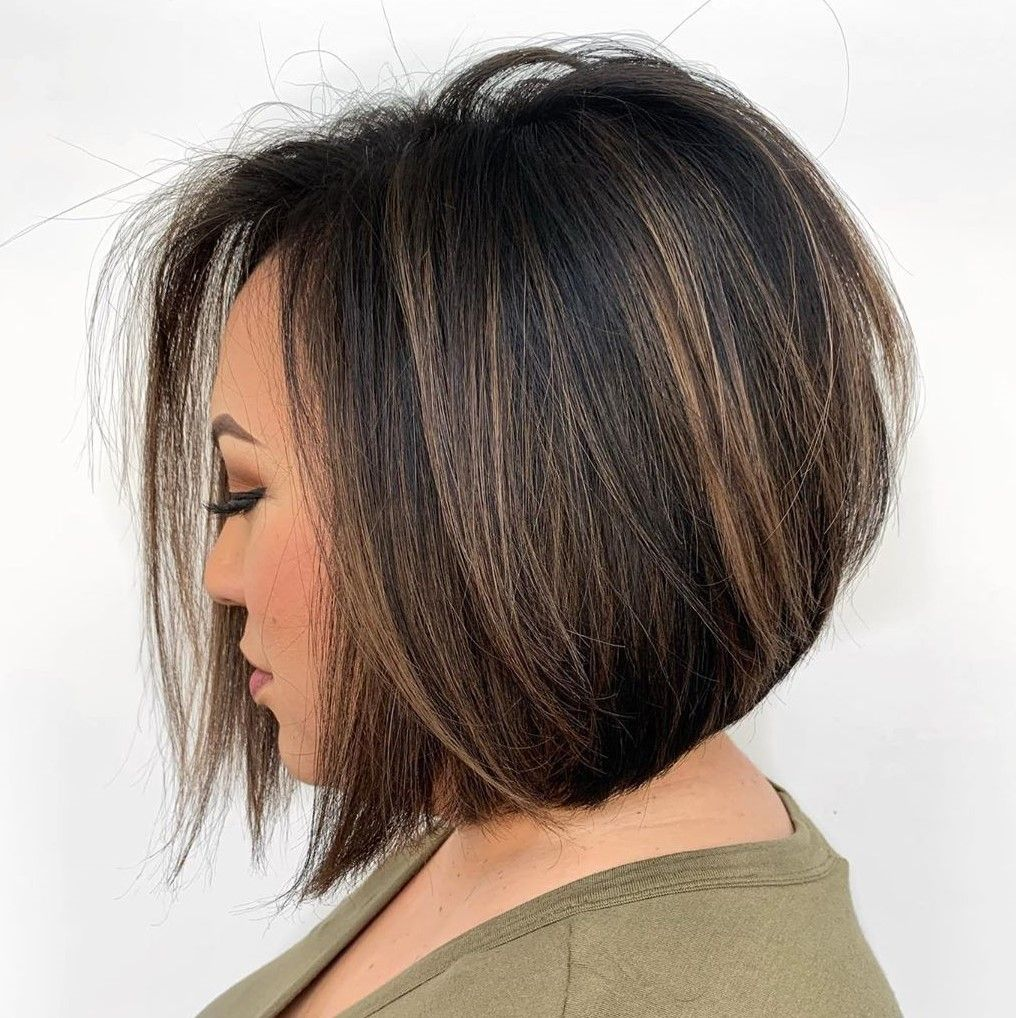 50 Ideas To Showcase Your Neck Length Hair At Its Best Hair Adviser Neck Length Hair Black Hair With Highlights Hair Highlights
