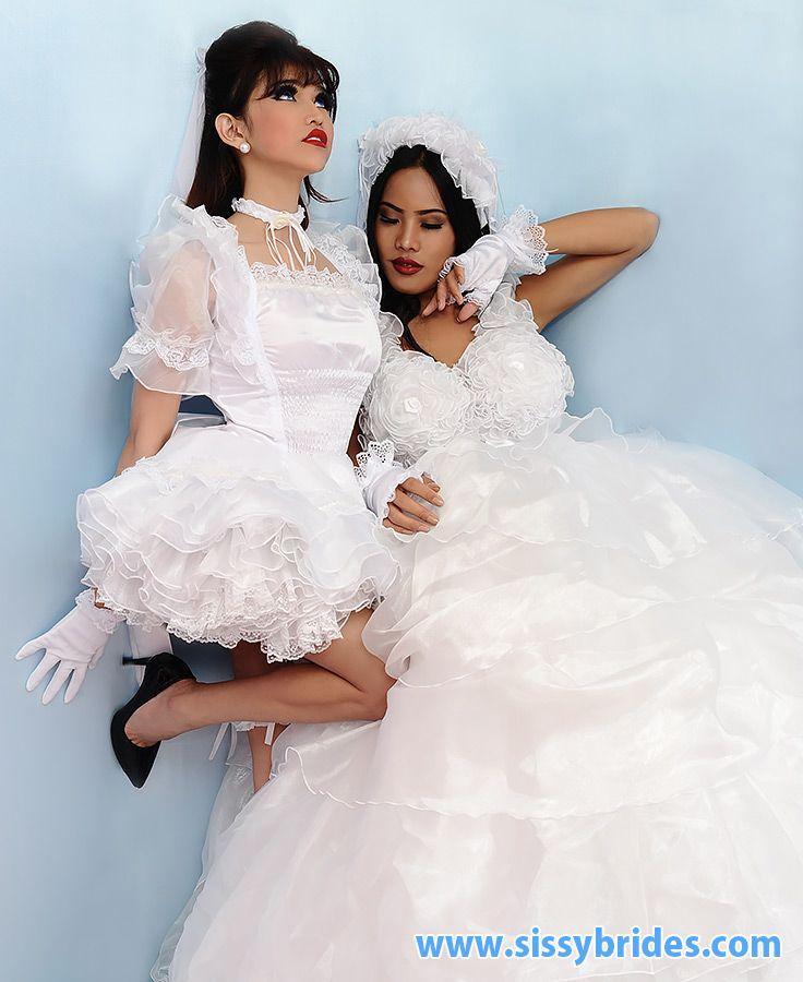 Sissy maid as wedding gift