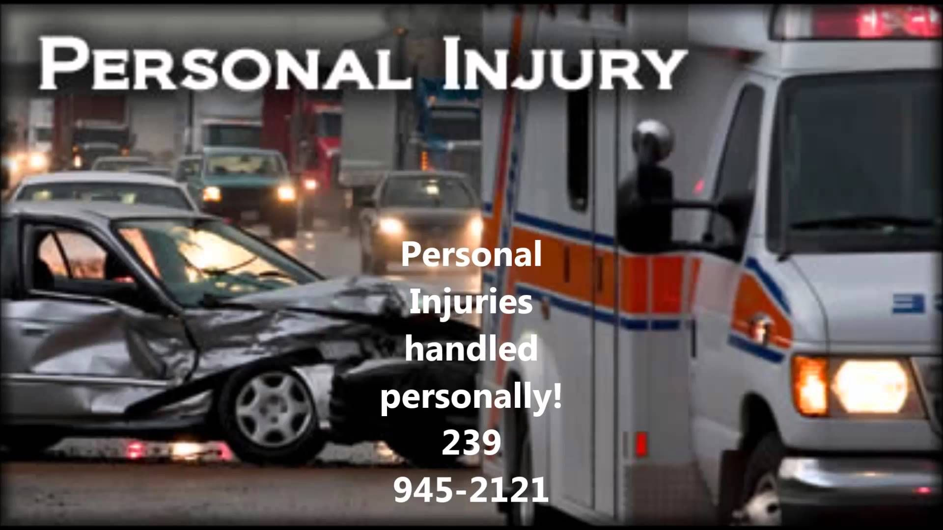 Arias Law Firm, P.A. 239 9452121 Car accident injuries