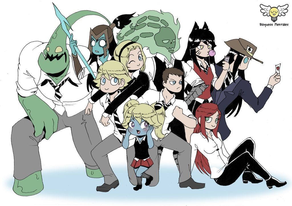 Champions Academy By Leobarrales Champion Anime Academy