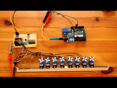 Drive 10 Servos with 2 Arduino Pins - YouTube