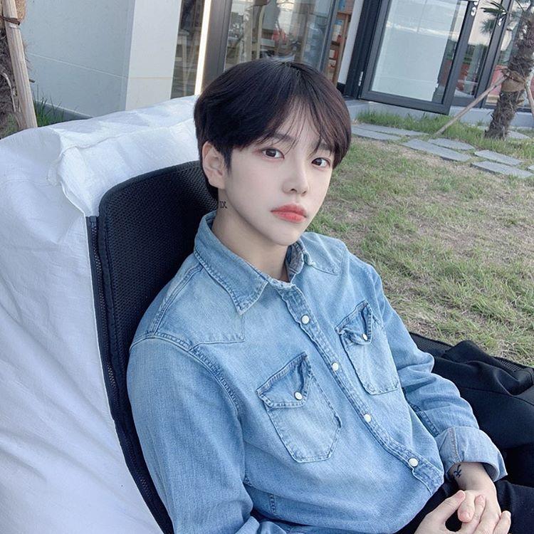 1icentia di instagram 날이 좋구나 korean boy hairstyle