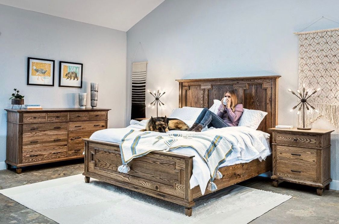 Our Brand New Set Designed By Justin Woodley Newbedroomset