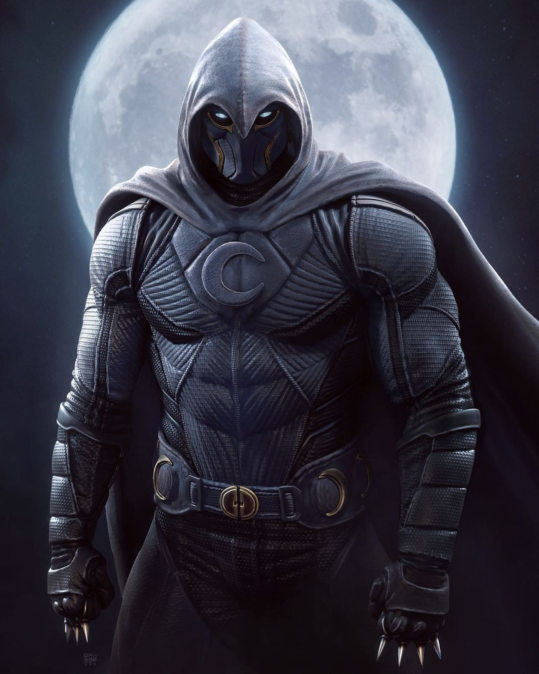Marc spector a. K. A moon knight ( when there's a moon bad rises. for bad  guys that is) a costume… | Marvel comics art, Marvel moon knight, Marvel  comics wallpaper