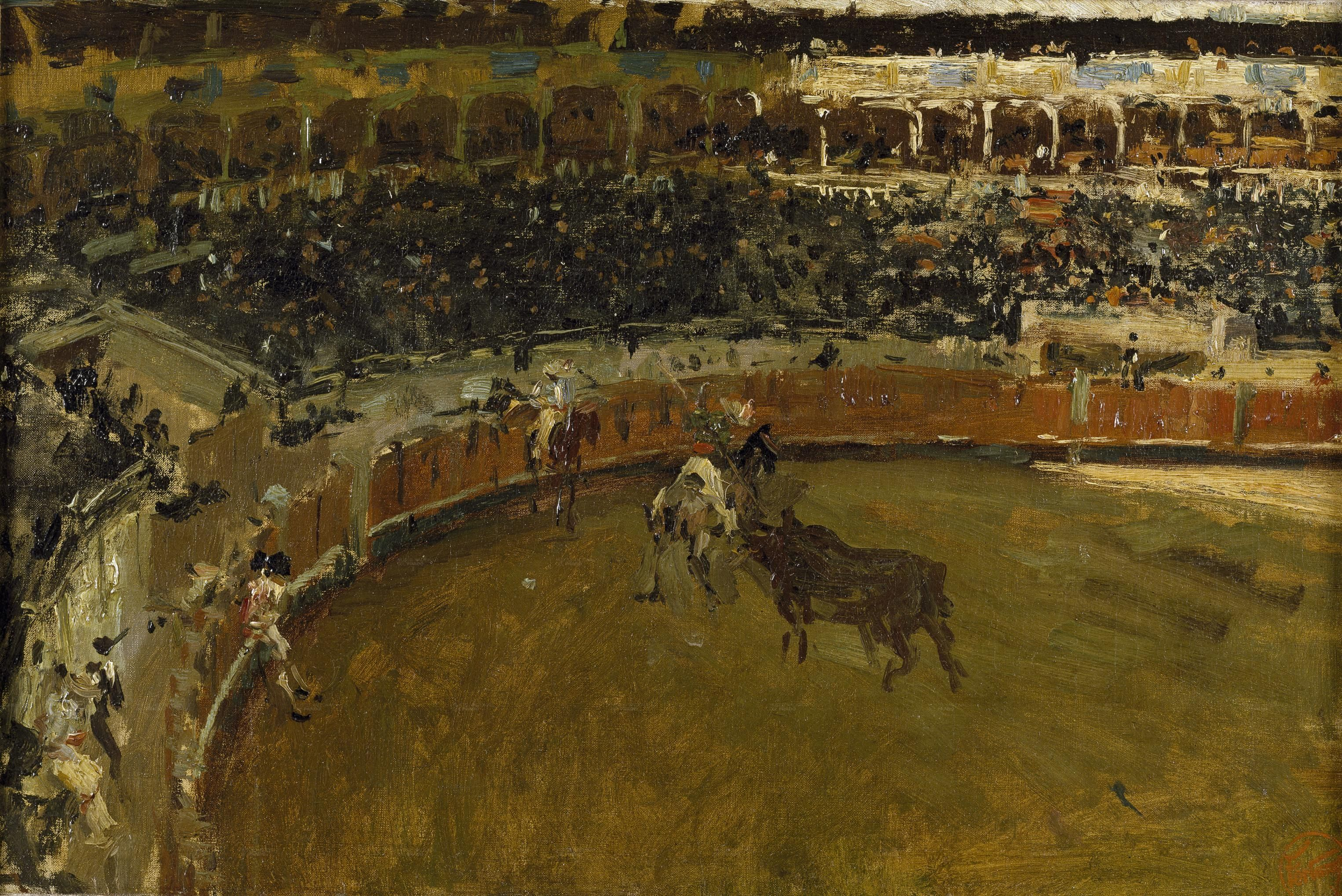 La corrida de toros - Mariano Fortuny, 1869
