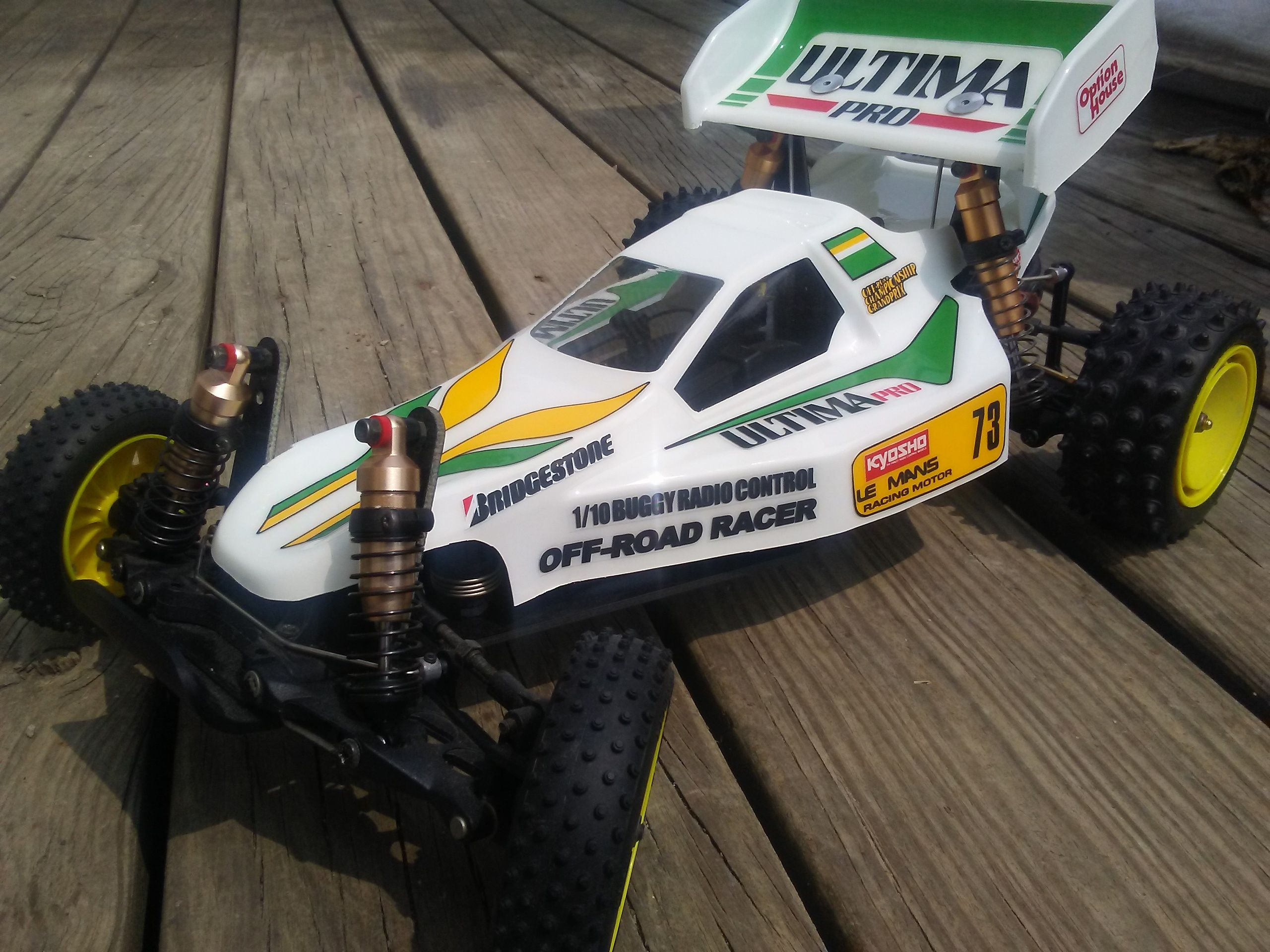 NEW KYOSHO ULTIMA 1/10 RC BUGGY KIT VINTAGE RE-RELEASE