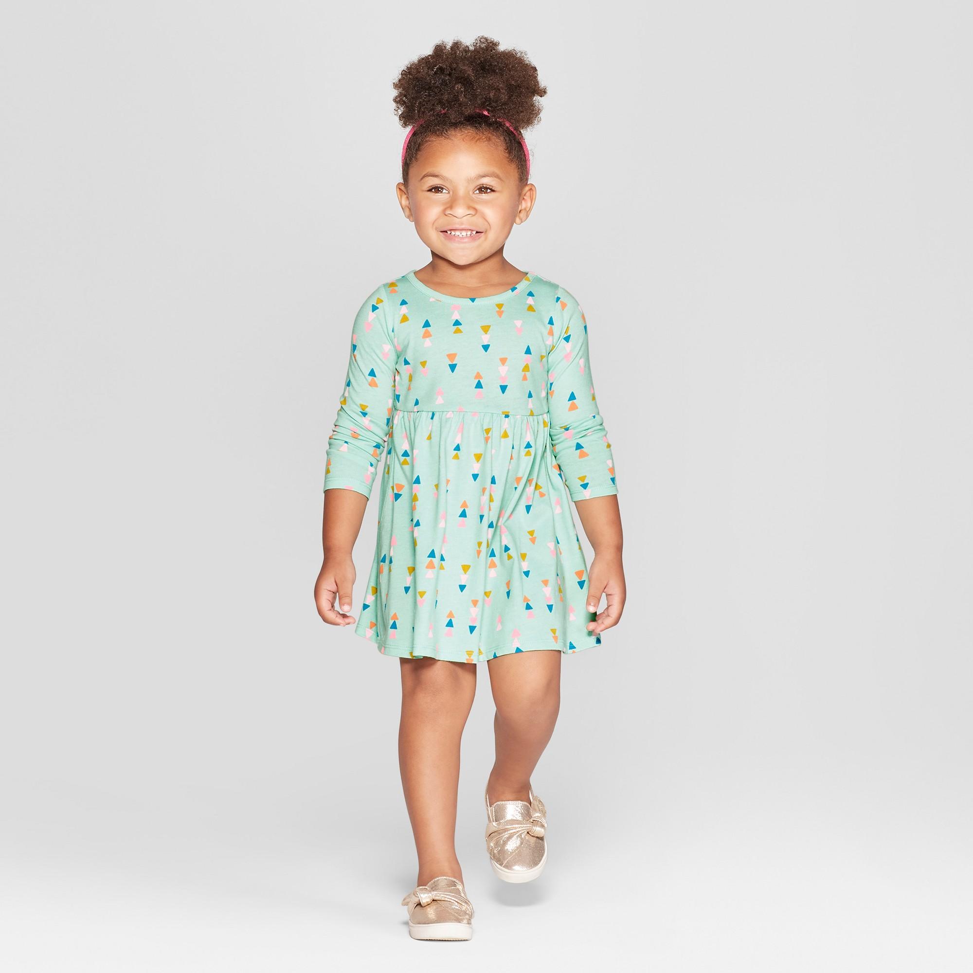 1c7d727fe97 Toddler Girls  Arrow All Over Print A-Line Dress - Cat   Jack Blue ...