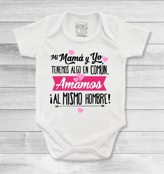 Bodys o mamelucos para bebé con diseños hermosos para mamá y papá que te  harán feliz a1aa7ad5526