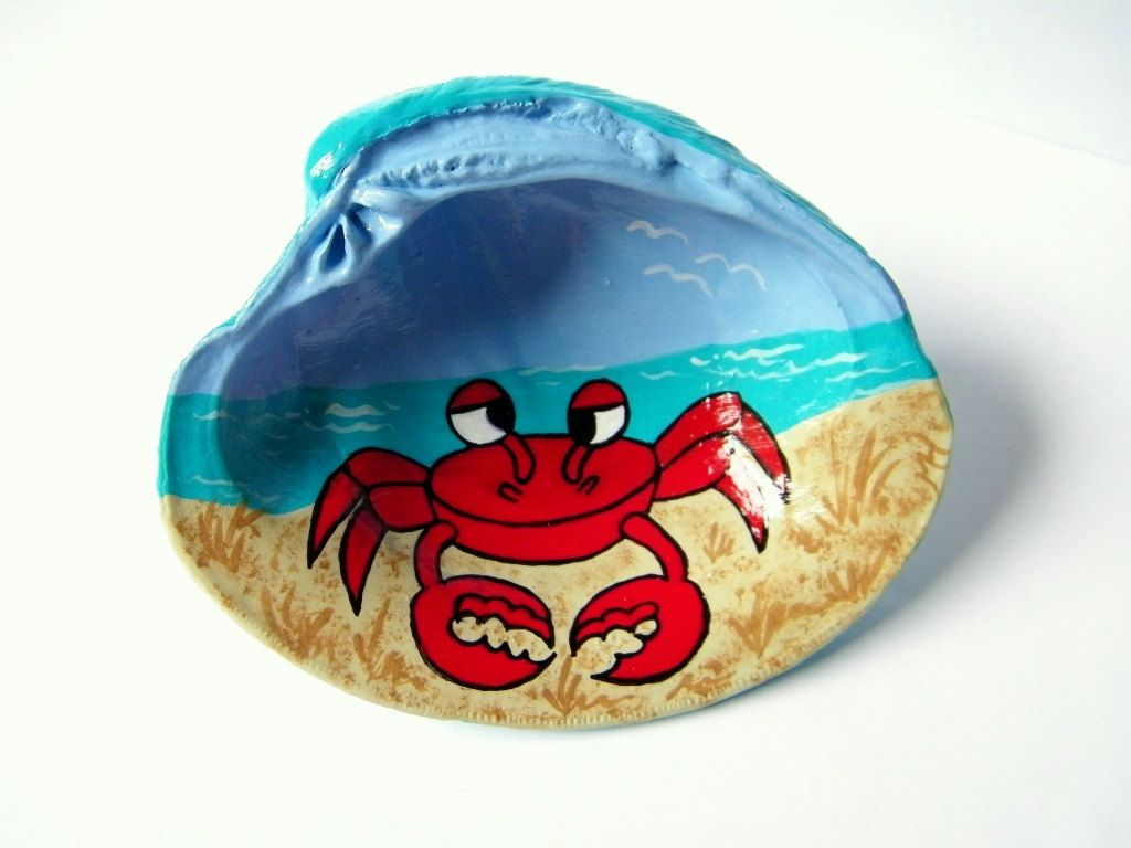 Oyster Shell Soap Dish