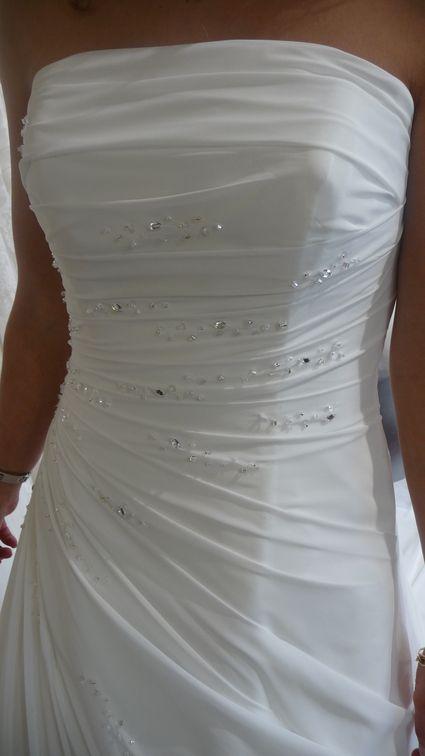 Robe de mariée White One 2012 modele Teresa - T34/36 d\'occasion ...
