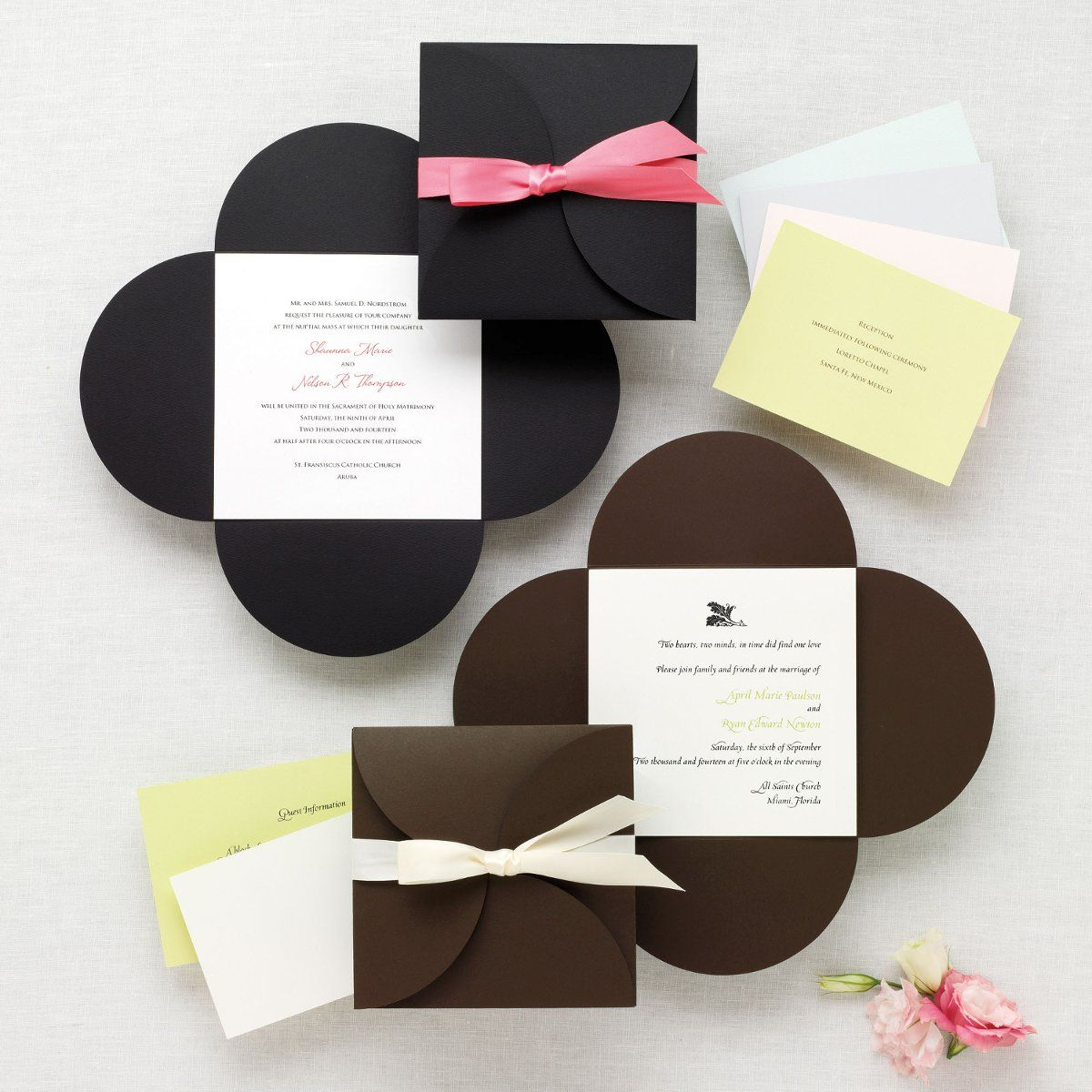 Wedding Invitations | Exclusively weddings, Menu cards and Ivory