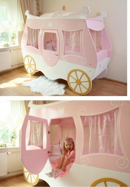 Best Turn Your Little Girl S Ordinary Bed Into A Disney 400 x 300