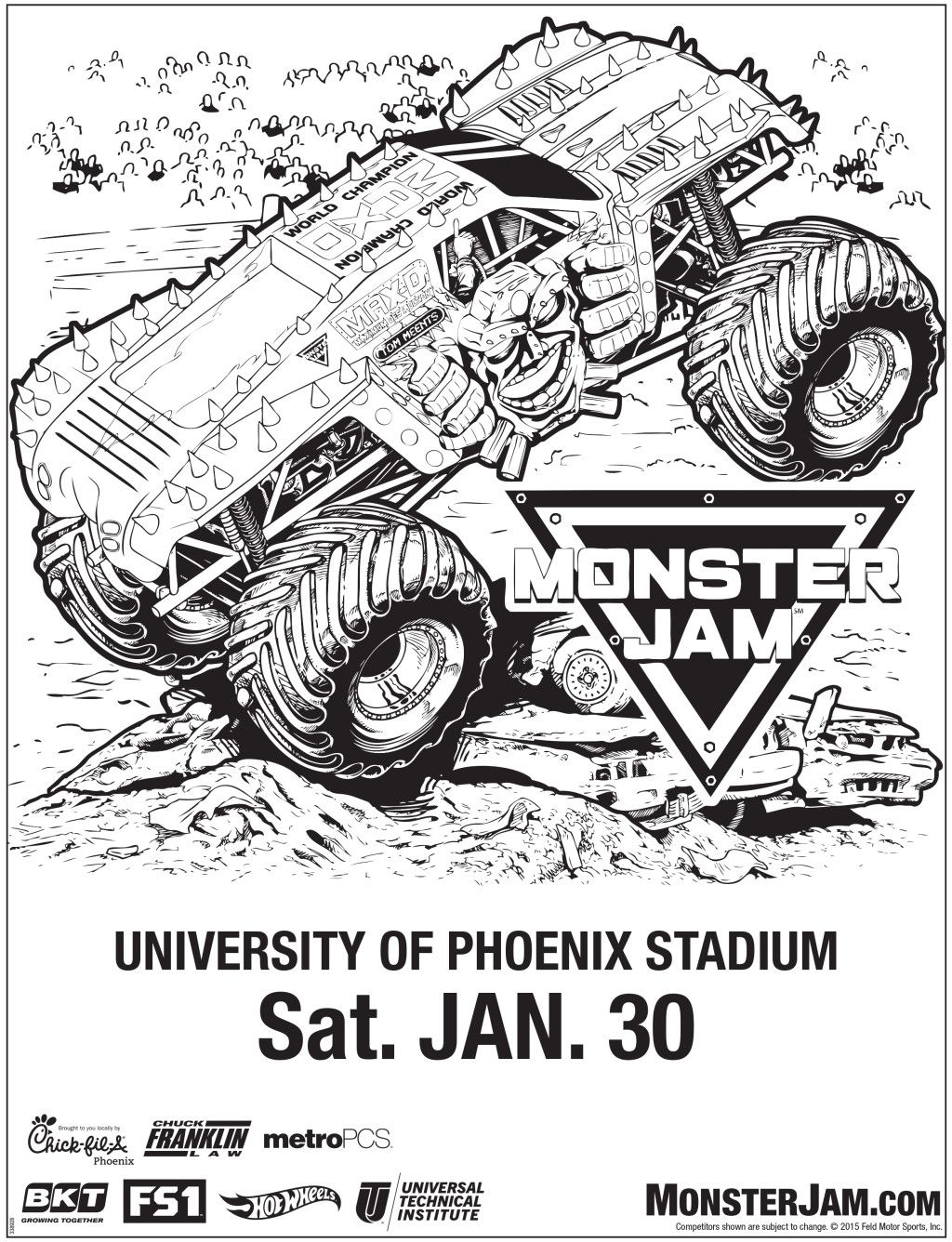 Monster Jam Comes to Glendale + Discount Tickets
