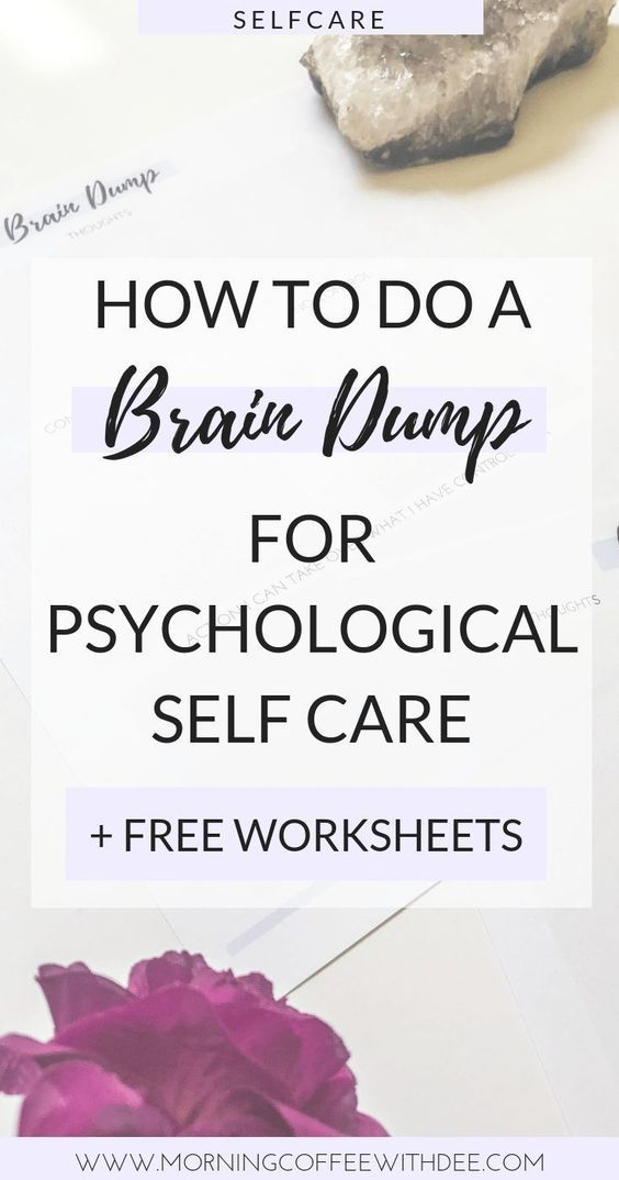 You know that feeling where your head is about to explode from the 10 million thoughts that are swirling around in it Try this easy brain dump exercise  brain dump worksh...