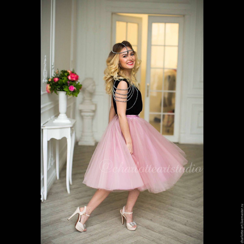 Розовую юбку пачку купить