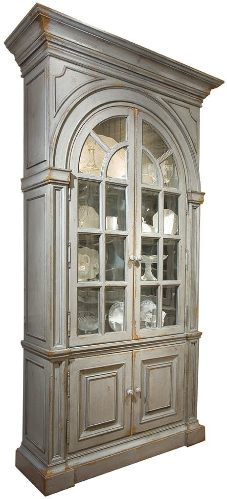 Habersham Furniture Moseley Display Case With Mirrored Back 23 8143