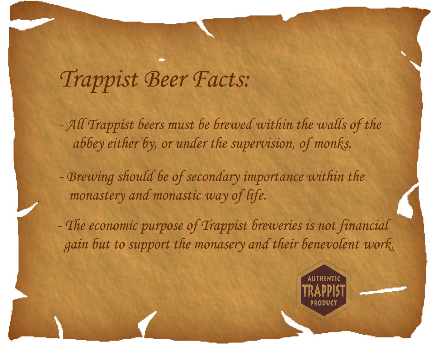 What Everyone should know about trappist beers!