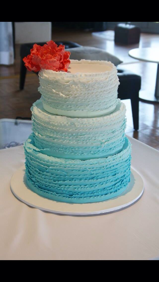 Our Turquoise Wedding Cake #turquoisecoralweddings Our Turquoise Wedding Cake #turquoisecoralweddings Our Turquoise Wedding Cake #turquoisecoralweddings Our Turquoise Wedding Cake #turquoisecoralweddings