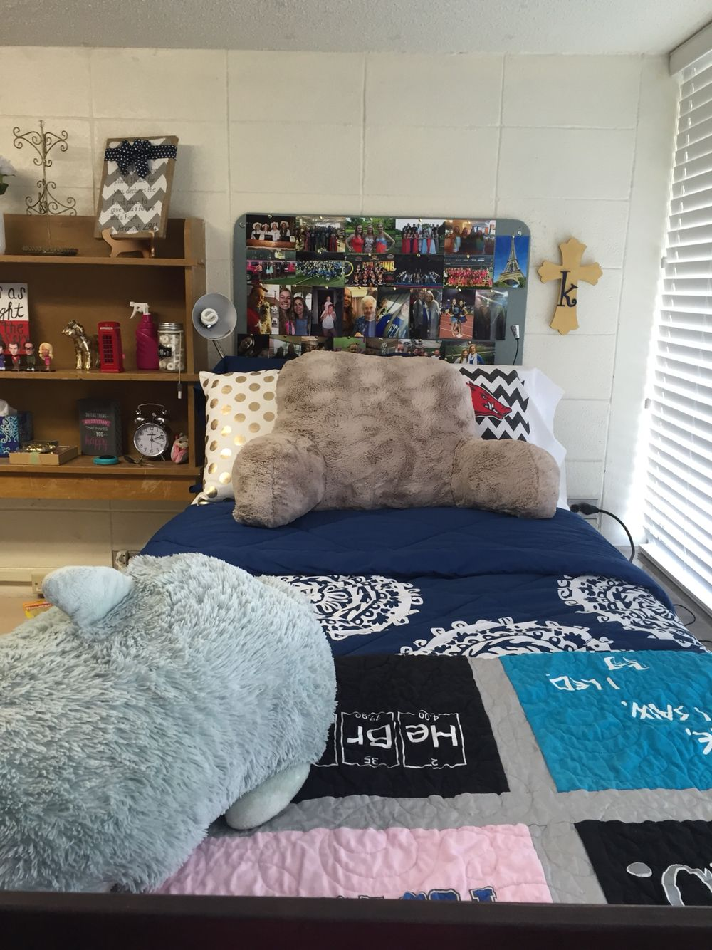 My Bed In Yocum Hall University Of Arkansas American Room Dorm Room Home Decor