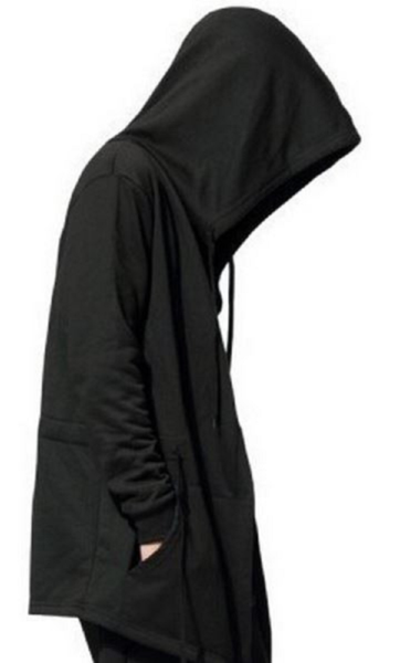 ... Male Streetwear Sweatshirts Hip Hop Spring Full Sleeves Clothing. This  full length cloak is a killer piece for your wardrobe. NinjApparel - Sith  Hoodie ... 565da1714