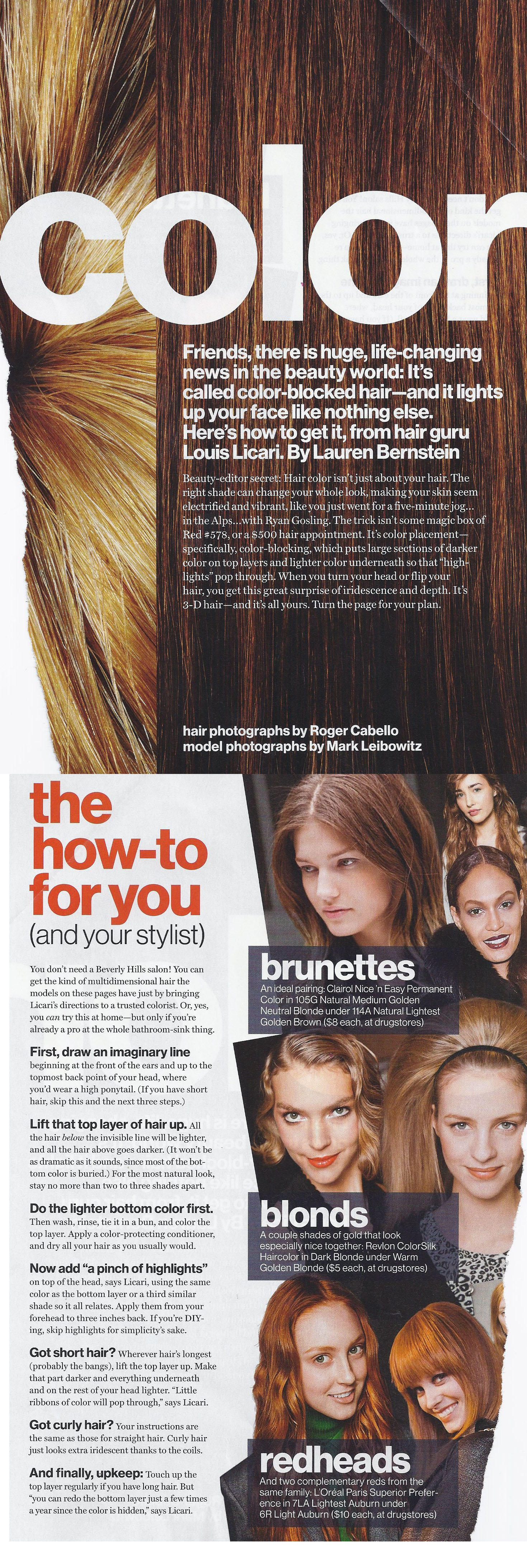 How To Dye Hair For A