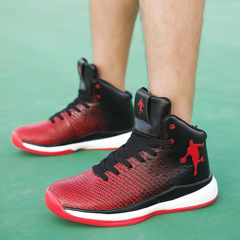 Man High Top Jordan Basketball Shoes