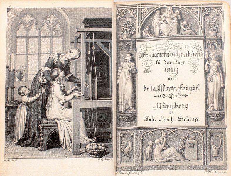 File Frauentaschenbuch 1819 Titel Jpg Wikimedia Commons Frauen Taschen Taschen Bucher Bilder