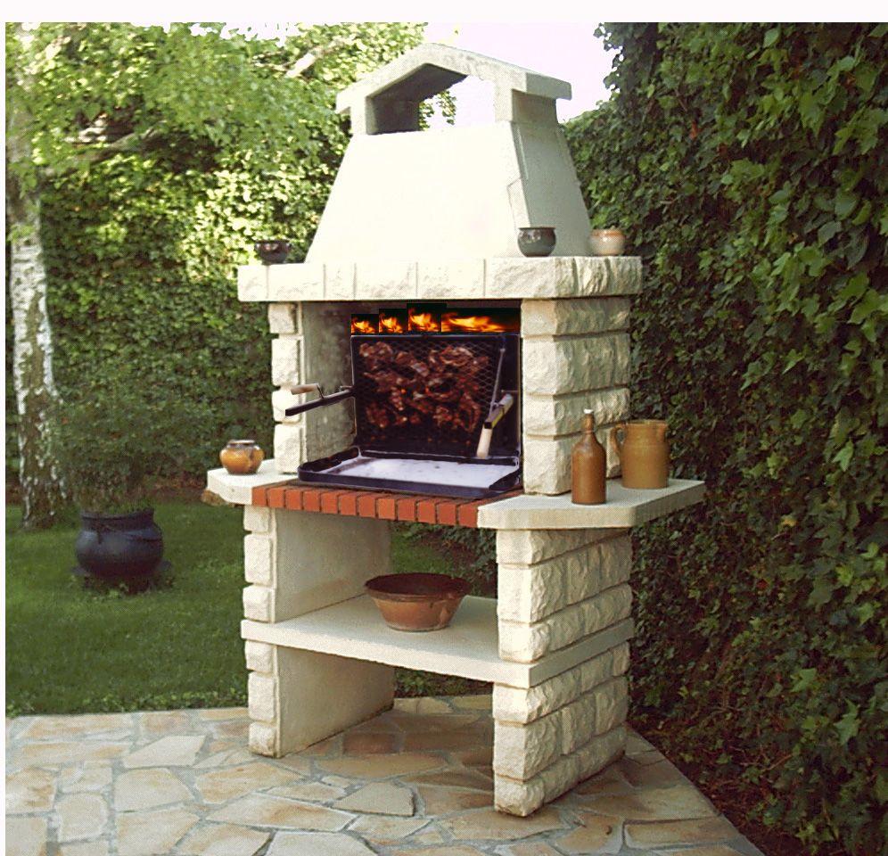 Barbecue Fait Maison En Fer Concernant Comment Choisir Un Barbecue En Pierre  ? | Comment Barbecue