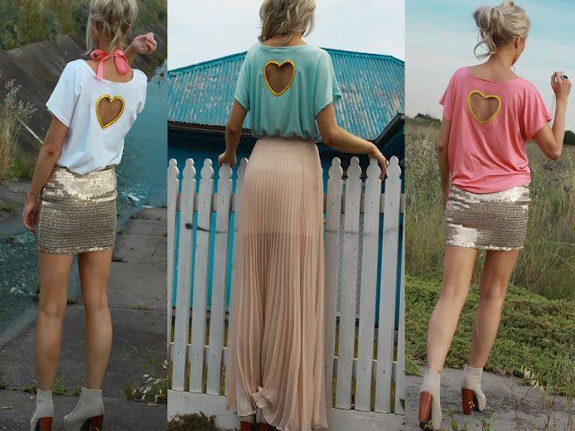 heart back shirt
